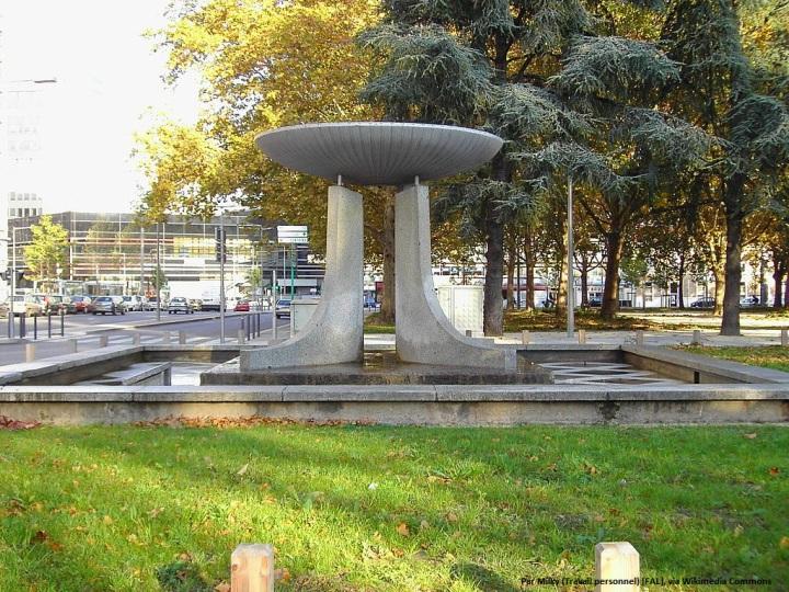 Vasque olympique - Photo Milky, Wikimedia Commons