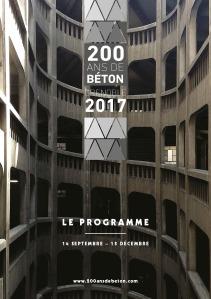 Programme 200 ans de béton